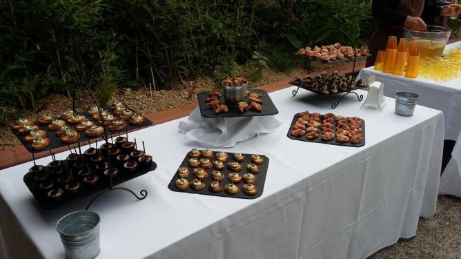 buffet appéritif mariage
