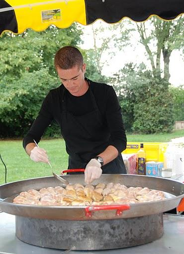 cuisson de la paella